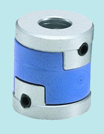 Nabeya Bi-Tech Kaisha Aluminium Alloy, Polyacetal Flexible Beam Coupling, MOL-16 5X6, Bore A 5mm Bor
