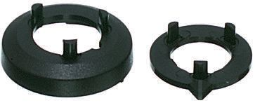 Nut Cover, Nut Cover Type, Black, For Use With Collet Knob product photo
