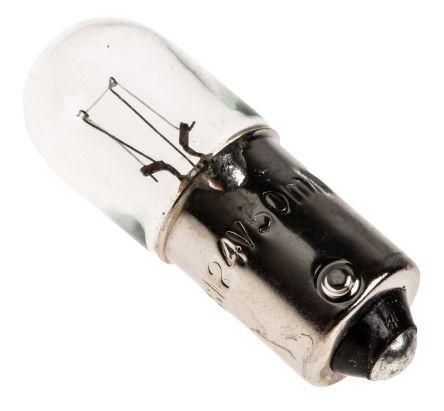 BA9s Indicator Light, Clear, 24 V, 50 mA, 5000h