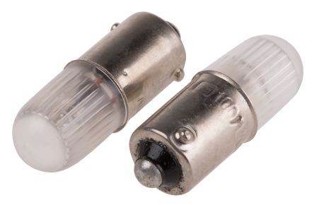 T10 Orange Filament Indicator Lamp, BA9s, 100/120 V 600 μA