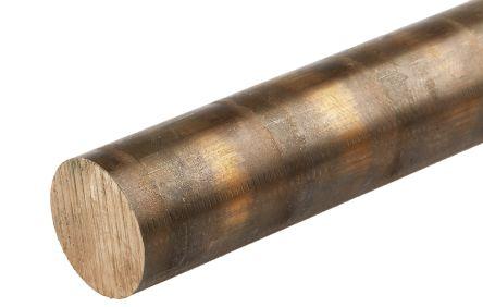 Phosphor bronze rod,13in L 3/4in dia