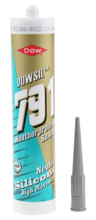 6011019 791 Grey Silicone Sealant Paste 310 ml Cartridge product photo