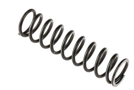 Steel Alloy Compression Spring, 53.5mm x 14.1mm, 4.04N/mm product photo