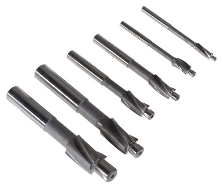 RS PRO Counterbore SetM3 to M10,6 Piece