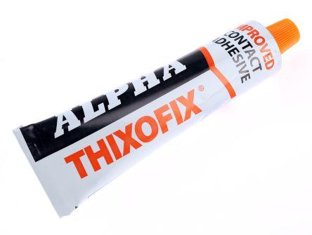 Adhesivo de contacto y de caucho Alpha Adhesives & Sealants Ltd THIXOFIX-40 40 ml Tubo Beige Adhesivo Gel