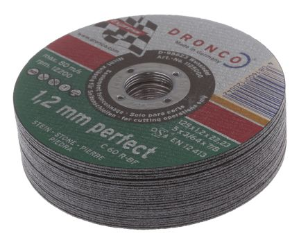 DRONCO Cutting Disc, 125mm Diameter, 1.2mm Thick