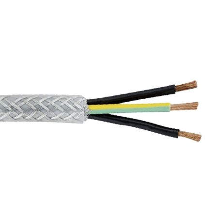 10/Metros Lapp 1135103//Ölflex Classic 110/CY 3/g0,75/mm/² blindado Cable de control con transparente cubierta exterior