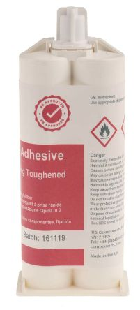 RS Structural Acrylic Adhesive 50ml Cart
