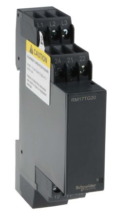 Schneider Electric Phase Monitoring Relay with DPDT Contacts 3
