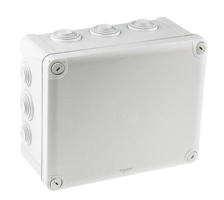 ENN05013 | Polypropylene IP55 Junction Box, 175 x 100 x 225mm, Grey