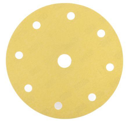 3M Aluminium Oxide Sanding Disc, 150mm, P400 Grit