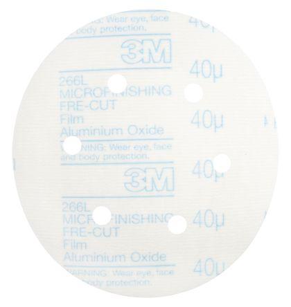 3M Aluminium Oxide Sanding Disc, 150mm, Coarse Grade,