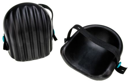 RS PRO Black Yes Foam Adjustable Strap Knee Pad