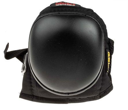 RS PRO Black Gel Adjustable Strap Knee Pad Resistant to Moisture