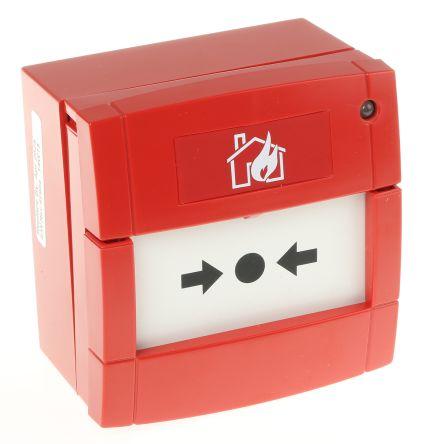 Fire Alarm Call Point, 85 x 85 x 58mm