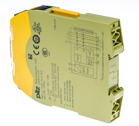 F0156099 02 pnoz s2 24vdc 3 n o 1 n c pnozsigma configurable safety relay pilz pnoz s2 wiring diagram at bakdesigns.co