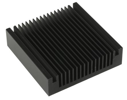 Heatsink, Universal Square Alu, 2K/W, 60 x 60 x 16mm