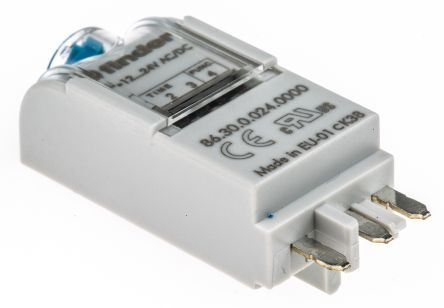 Finder 86 Series 24V ac/dc Plug In Interface Relay Module