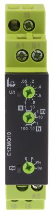 Tele Flash Pause First, OFF Delay, ON Delay, One Shot Leading Edge Voltage Controlled Multi Function Timer Relay, 50 ms