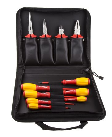 11 Piece VDE/1000 V Electricians Tool Kit product photo