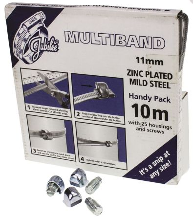 ZnPt steel continuous banding kit,10m L
