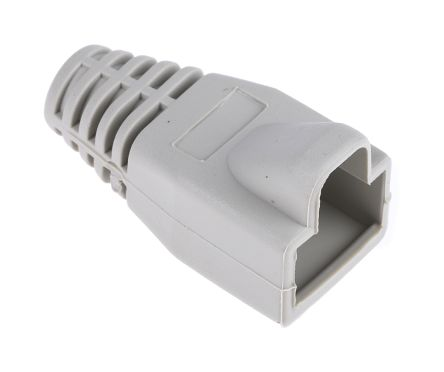 RS Pro RJ45 RJ Connector Hood, Grey 27.7mm length