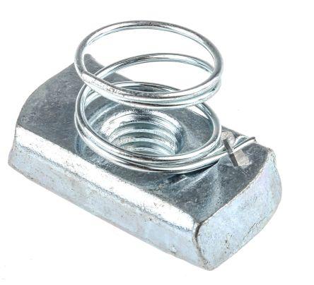 Unistrut Channel Nut, M10, Nut Base Dimensions 21 x 41mm, Steel, 0 04kg