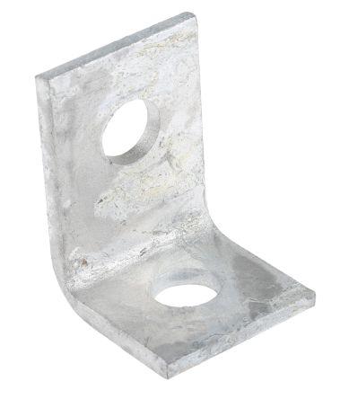57 x 41mm 2 Hole Steel Angle Bracket product photo