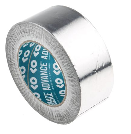 Advance Tapes AT500 Non-Conductive Aluminium Tape, W.50mm, L.45m