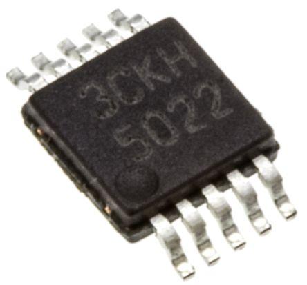Texas Instruments LM5022MM/NOPB, PWM Controller 2 MHz 10-Pin, MSOP