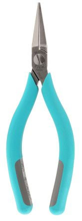 ESD 146 mm Tool Steel Flat Nose Pliers With 33.5mm Jaw product photo