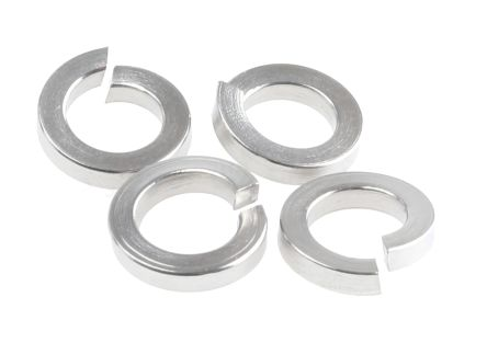 A4 stainless steel spring washer,M5