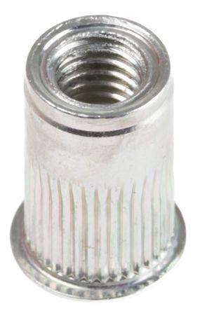 Plain, M5 Insert AVKAKS3T-580-3.0, 8.64mm Diameter 7.6mm Depth 8mm