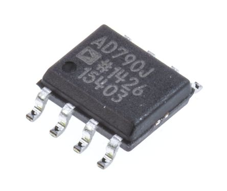 Analog Devices AD790JRZ Comparator, TTL O/P, 5 V 8-Pin SOIC