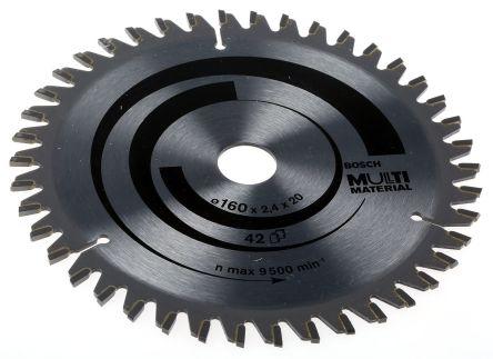 Bosch 160mm Tungsten Carbide Circular Saw Blade, 20mm Arbor