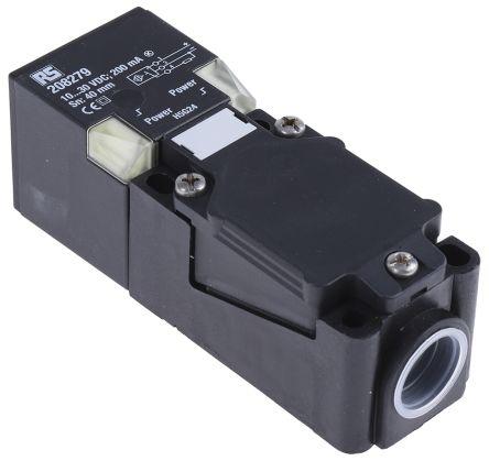 RS PRO 114mm Non Flush Mount , Inductive Sensor PNP-NO Output, 40 mm Detection , IP68