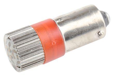 mmr24ba9a rs pro led reflector bulb ba9s red multichip 10mm dia 24 v ac dc 208 560. Black Bedroom Furniture Sets. Home Design Ideas