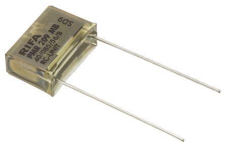 KEMET RC Capacitor 47nF 47Ω Tolerance ±20% 250 V ac, 630 V dc 1-way Through Hole PMR209 Series