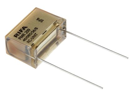 KEMET RC Capacitor 220nF 47Ω Tolerance ±20% 250 V ac, 630 V dc 1-way Through Hole PMR209 Series