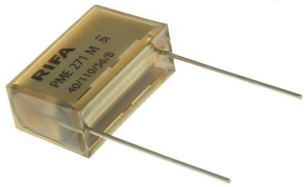 KEMET Paper Capacitor 330nF 275V ac ±10% Tolerance PME271M Through Hole +110°C
