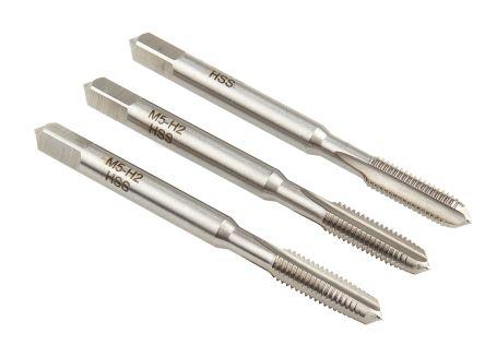 UK Drills HSS Hand Tap High Speed Steel Cut Threads M3 1st Cut