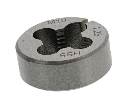 RS PRO Die, M10 x 1.25mm Pitch, 1in od