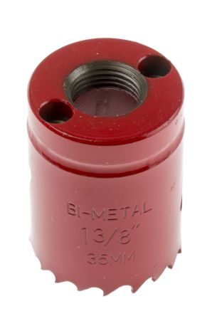 Bi-metal hole saw 35mm dia