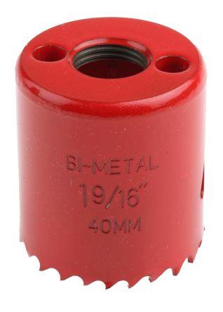 Bi-metal hole saw 40mm dia