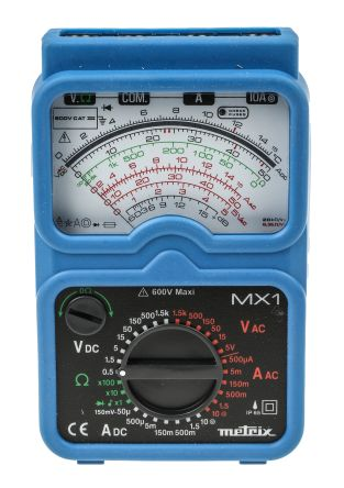 MX 1 Analogue Multimeter 200A ac 1.5kV product photo