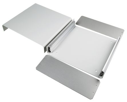 Aluminium Project Box, Grey, 250 x 260 x 90mm product photo
