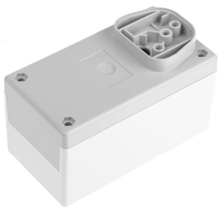 Power Supply Case, Polystyrene, Grey, White, 120 x 65 x 65mm product photo