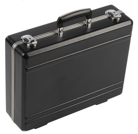 RS PRO ABS with Aluminium Frame Tool Case Without Wheels, 411 x 312 x 118mm