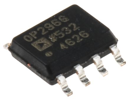 Analog Devices OP296GSZ, Dual Op Amp, 350kHz, 5 V, 9 V, 8-Pin SOIC
