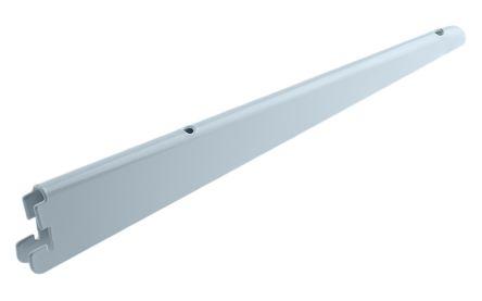 Staffe Per Scaffalature.Staffa Di Montaggio A Parete Acciaio Bianco Rs Pro Scaffale Modulare X 320mm X 320mm
